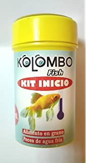 Alimento en grano para peces agua fria kit inicio Kolombo (Formato 50 ml)