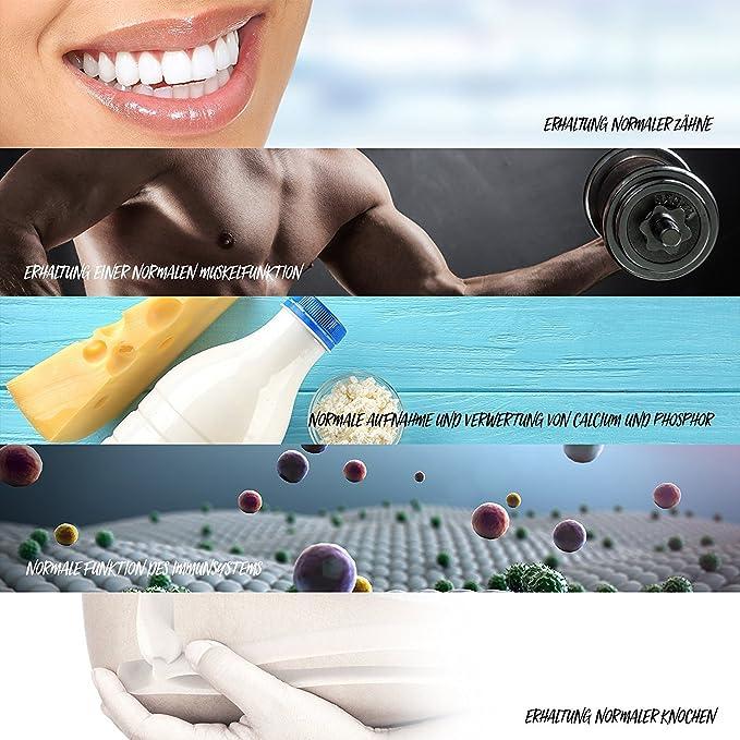 Depósito de Vitamina D3 Líquido de 10,000 UI - Gotas veganas - Una porción / 10 días (20 ml / 600 gotas): Amazon.es: Salud y cuidado personal
