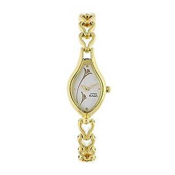 6c972e0b4d2 Amazon.com  Titan Women s 2457YM01 Raga Gold Metal Strap Watch  Watches
