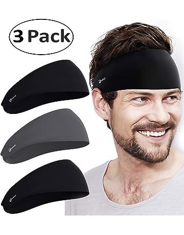 3687e929eaf Self Pro Mens Headbands - Guys Sweatband   Sports Headband for Running