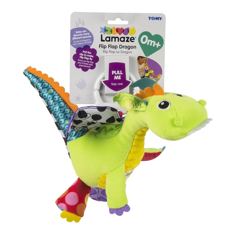 amazon com lamaze flip flap dragon baby