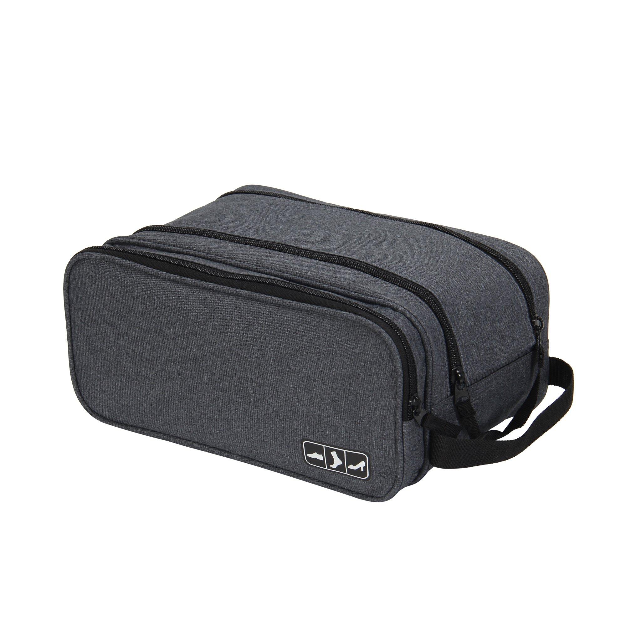 Hynes Eagle Portable Travel Gear Shoe Bags Pouch Grey