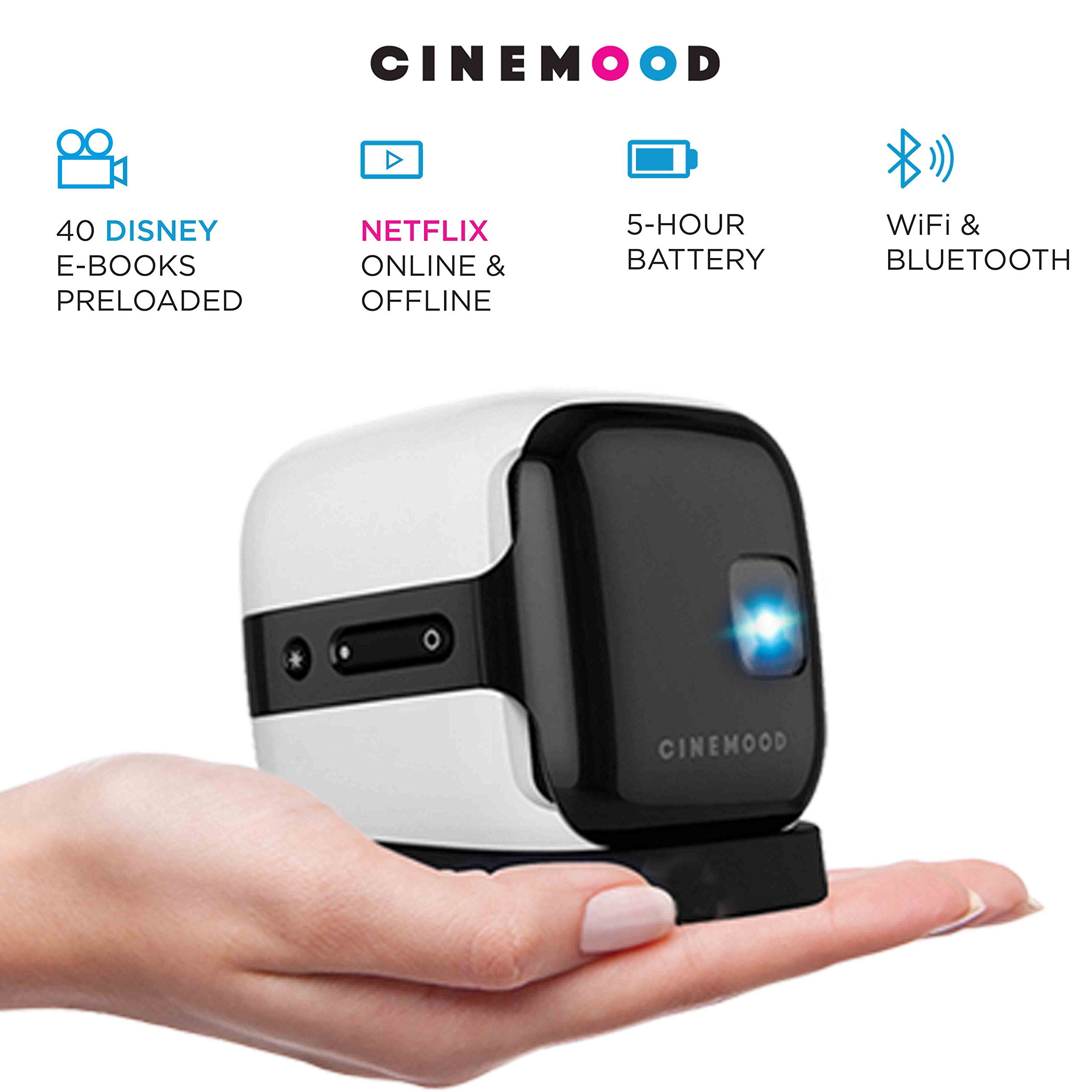 CINEMOOD 3-in-1 Magic Cinema Now Includes Disney Family Favorites – Plus Streams Netflix, YouTube, and YouTube Kids too! Limited Time Special Price Offer