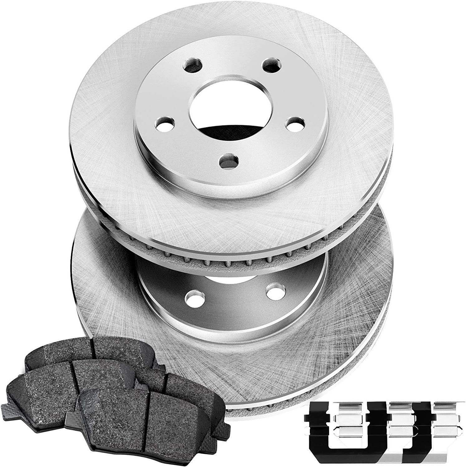 For 2002 2003 2004 2005 2006 Toyota Camry LE SE XLE Front Rotors /& Ceramic Pads