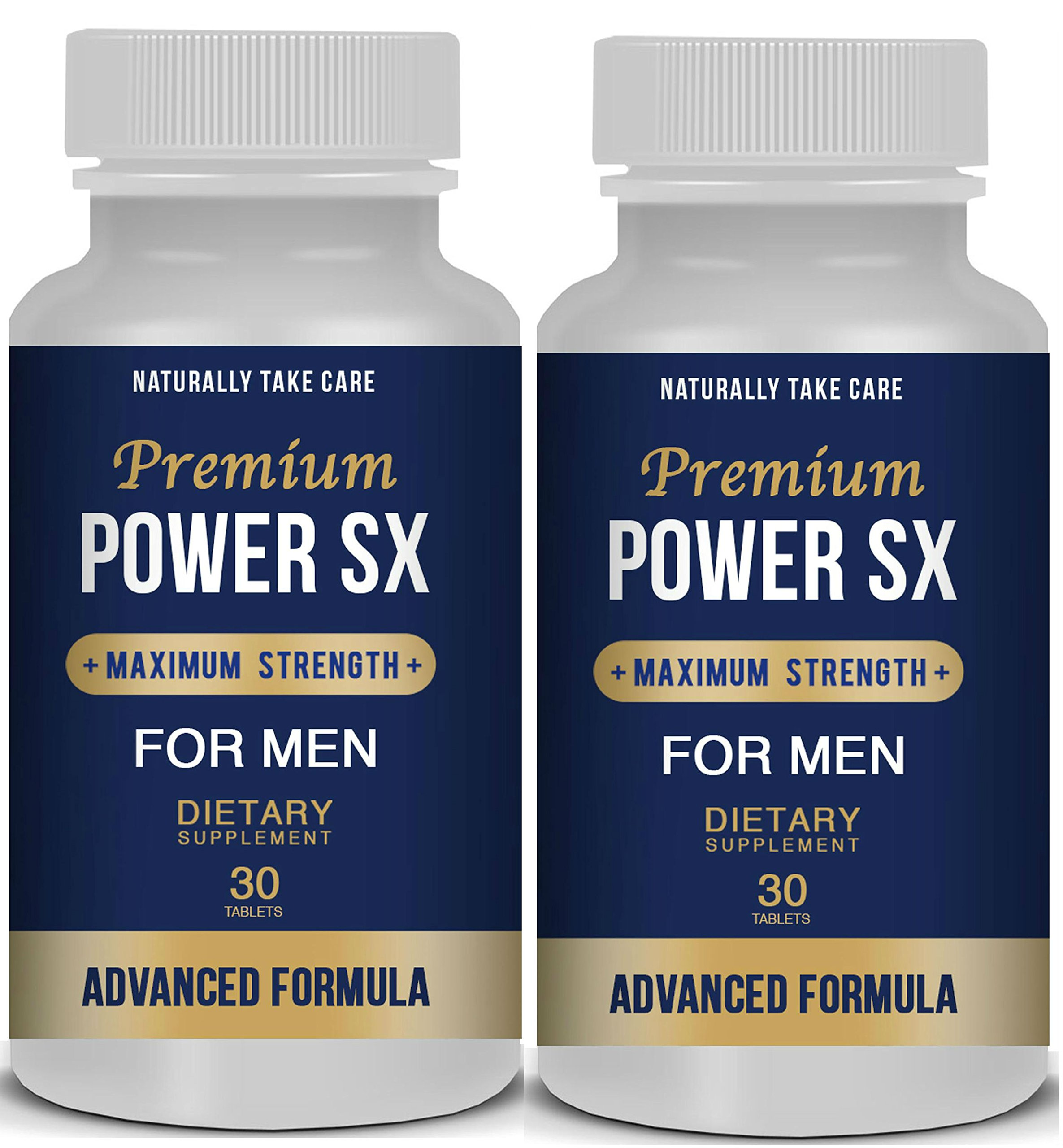 2 x Male Enhancement Pills: Men's Natural Sex Supplement - Sexual Health & Libido Booster - Top Rated Natural Male Enhancement - Sexual Enhancement Pills Stamina. by NTC