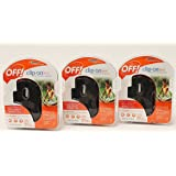 Off! Clip on Mosquito Repellent Fan - Black Pack of 3