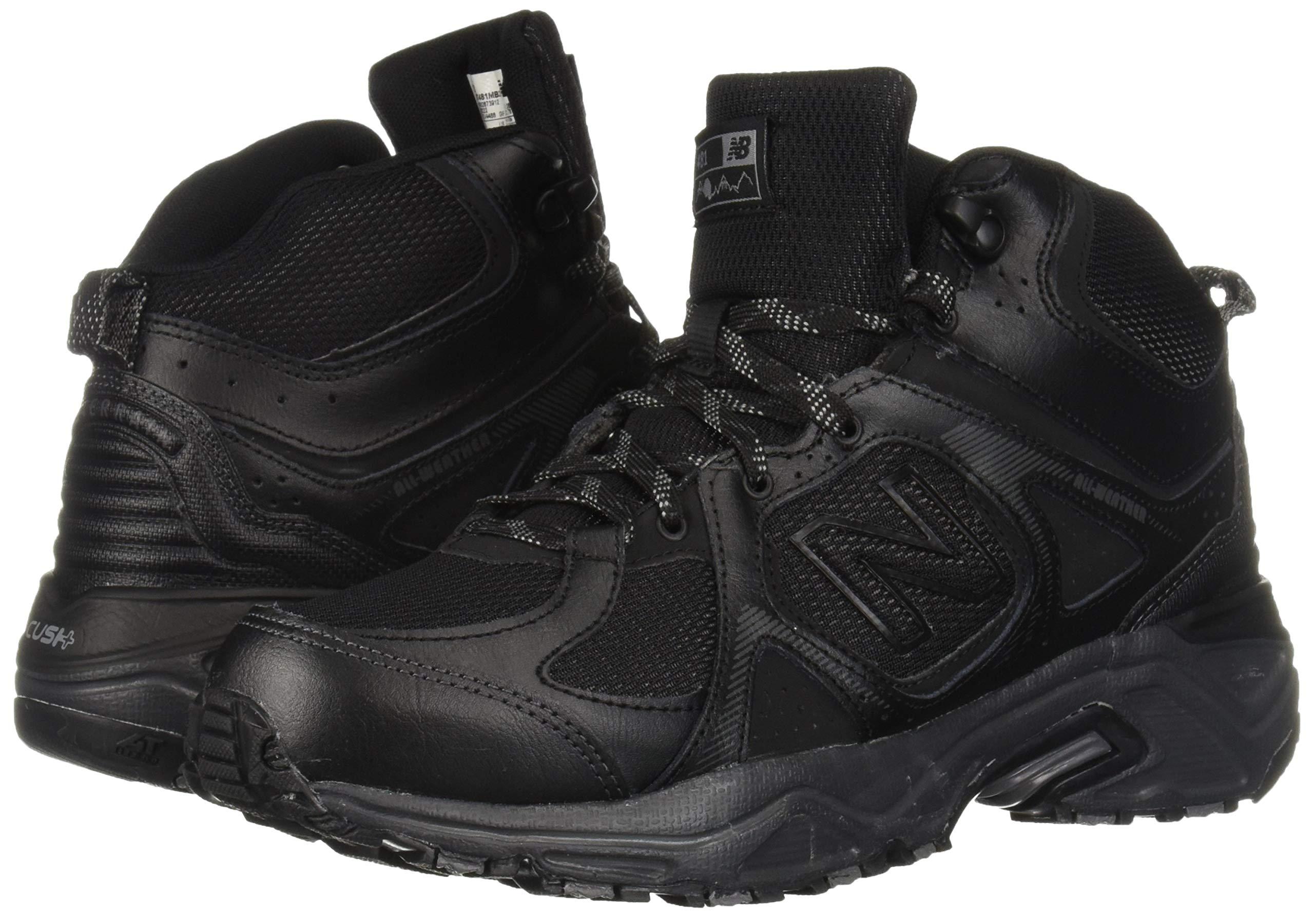 New Balance Men's 481 V3 Cushioning Trail Running Shoe Black/Magnet 9.5 D US by New Balance (Image #6)