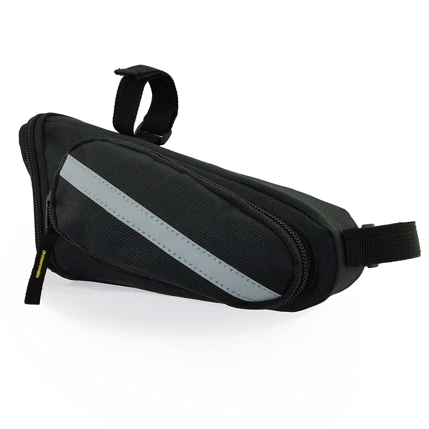 Lumintrail Strap-on Bike Saddle Bag Bicycle Cycling Under Seat Pack Medium or Large