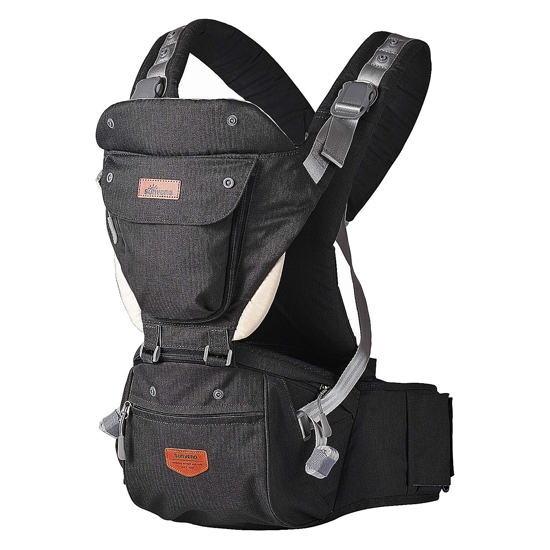 SUNVENO Baby Hipseat Ergonomic Baby Carrier