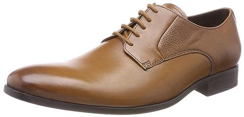 Gilmore Lace, Zapatos de Cordones Derby para Hombre, Marrón (Tan Leather), 41 EU Clarks