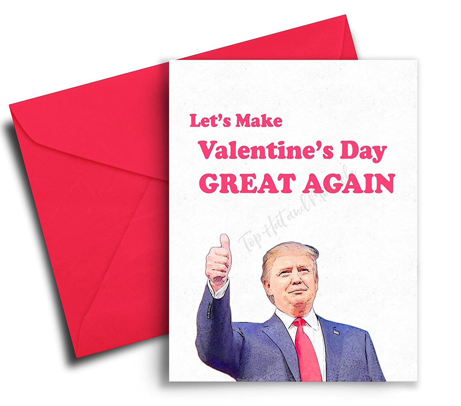 Amazon.com: Funny Valentines Day Cards for Him / For Her - Donald ...