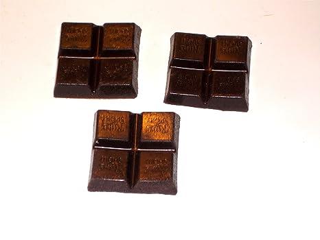Juego de 3 cuadrados Mini Pizarras de chocolate zartbitter ...