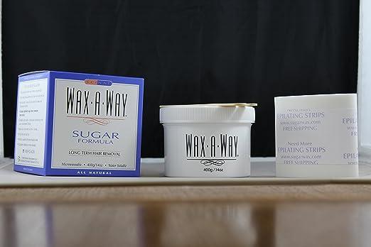 Waxaway Sugar Formula Wax Kit Five Star Brands Ltd  Christmas Holiday