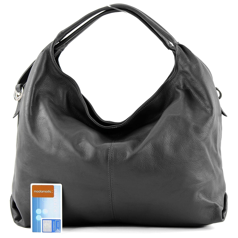 Sac à main italien sac porté à l'épaule en cuir femme sac en cuir souple DS26, Präzise Farbe (nur Farbe):Orange
