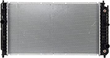 TYC 2264 Pontiac Grand AM 1-Row Plastic Aluminum Replacement Radiator