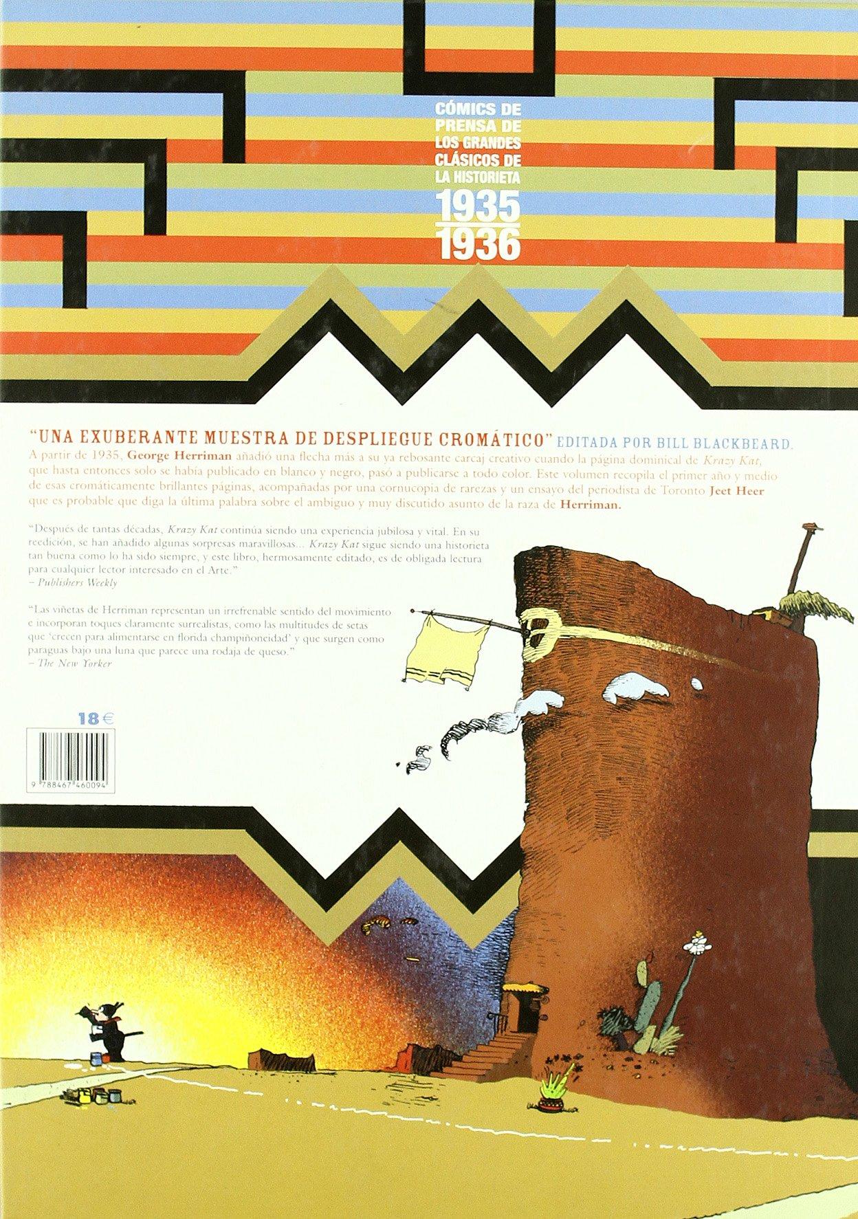 KRAZY &IGNATZ Nº 6 (1935-1936): GEORGE HERRIMAN: 9788467460094: Amazon.com: Books