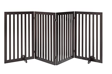 Amazon Com Total Win Freestanding 36 Tall Dog Gate W Support