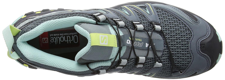 Salomon Women's Xa Pro 3D W Trail Running Shoe B078SZCMV9 7 M US|Stormy Weather/Lead/Eggshell Blue