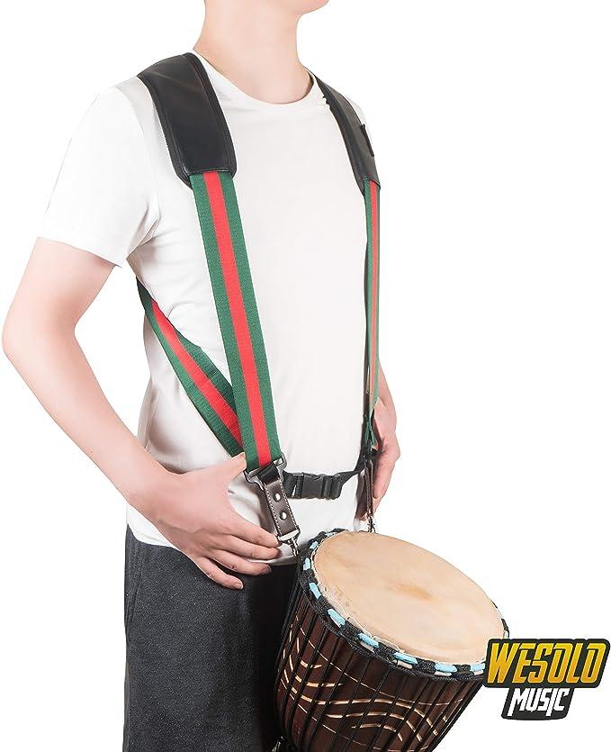 Correa de hombro para tambor de mano, arnés de yembe, cinturón de ...