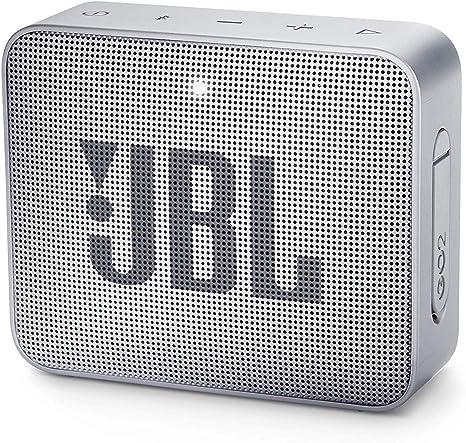 jbl go 2 black bluetooth speaker aux output