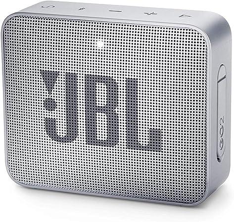 Oferta amazon: JBL GO 2 - Altavoz inalámbrico portátil con Bluetooth, resistente al agua (IPX7), hasta 5 h de reproducción con sonido de alta fidelidad, gris