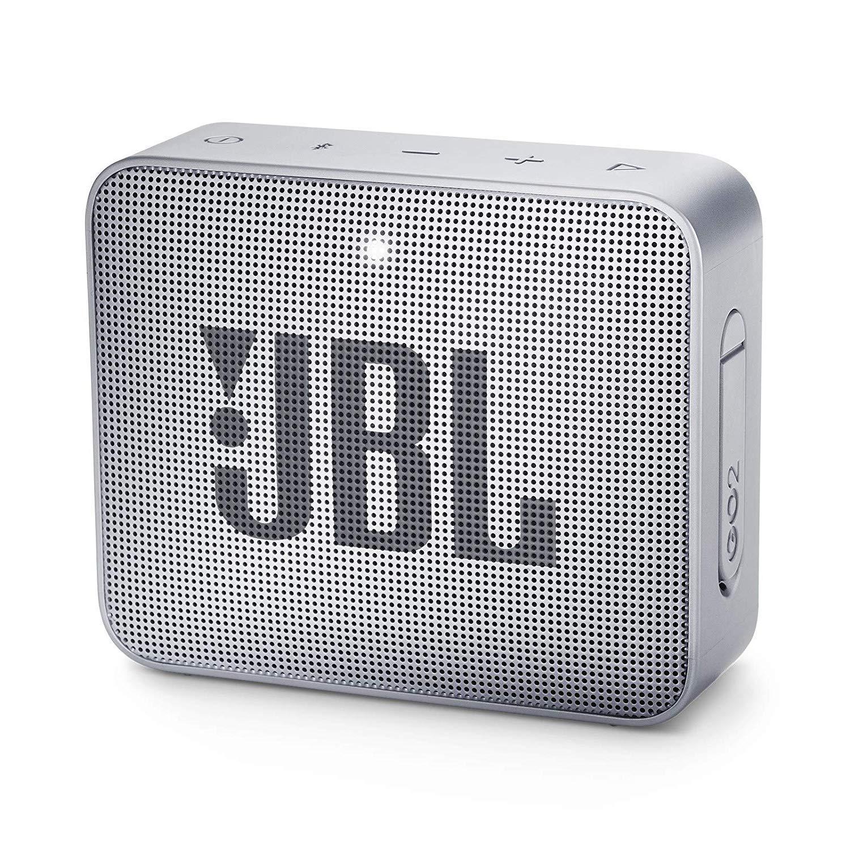 JBL GO 2 - Altavoz inalámbrico portátil con Bluetooth, color gris