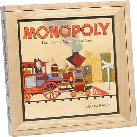 Monopoly - Juego de mesa con caja de madera [Importado de Inglaterra]: Amazon.es: Juguetes y juegos