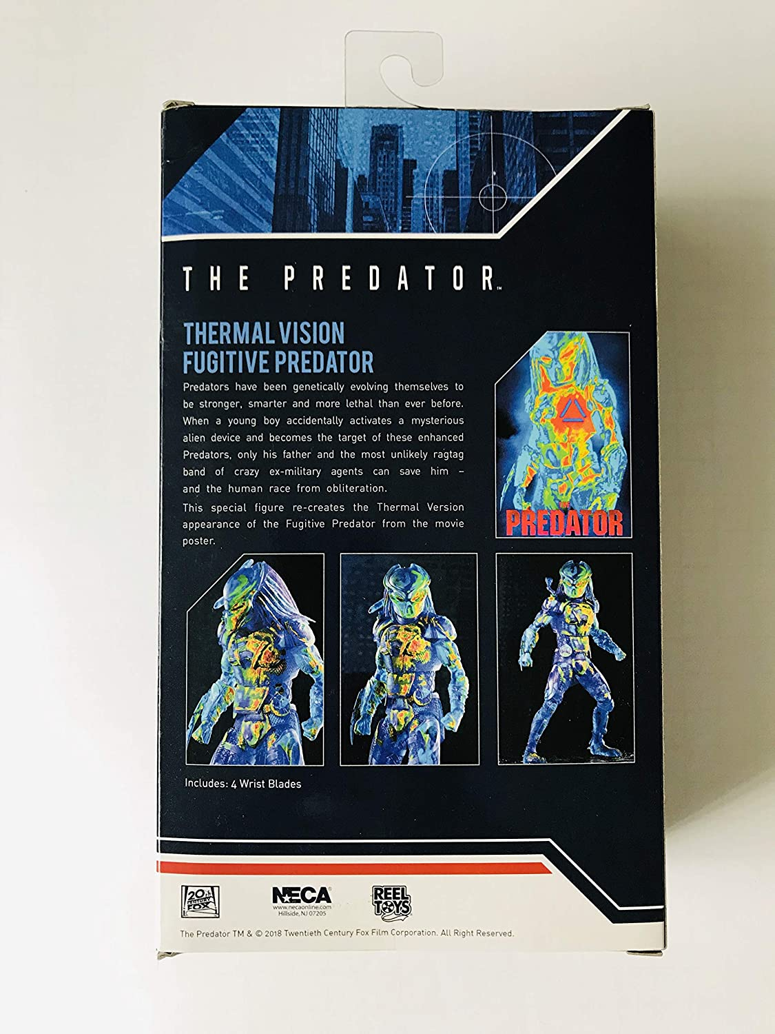 "NECA The Predator Thermal Vision Action Figure 7/"" ."