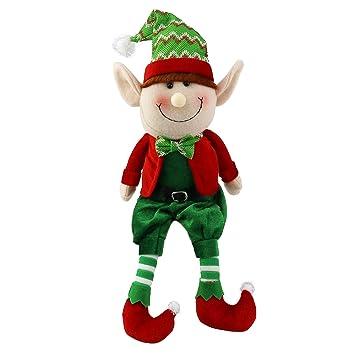 Amazon Com Wewill 16 Stuffed Elf Plush Toys Christmas Decoration