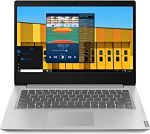 "New Lenovo Ideapad S145 14"" Laptop Intel Pentium Gold 5405U Dual-Core CPU, 4GB Memory 128GB SSD Windows 10 Grey (Renewed)"