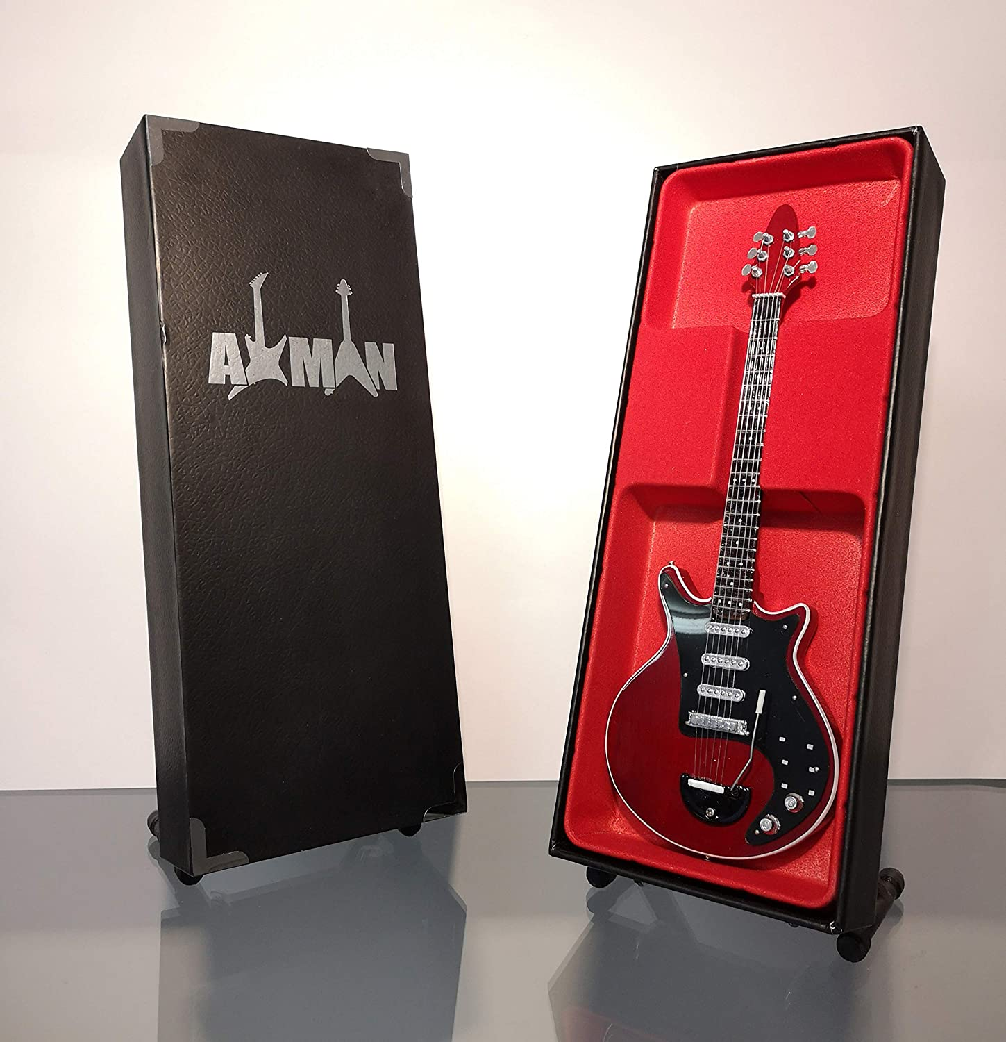 Brian May Queen Red Especial - Réplica de guitarra en miniatura: