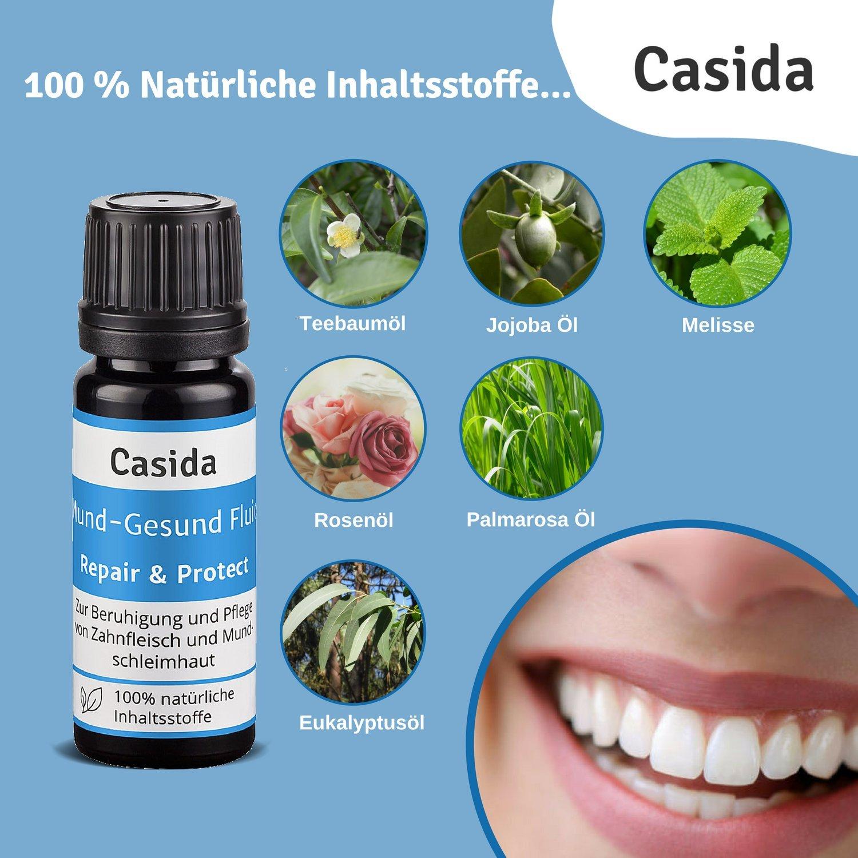 Fluid Repair & Protect para boca, con plantas que ayudan a ...