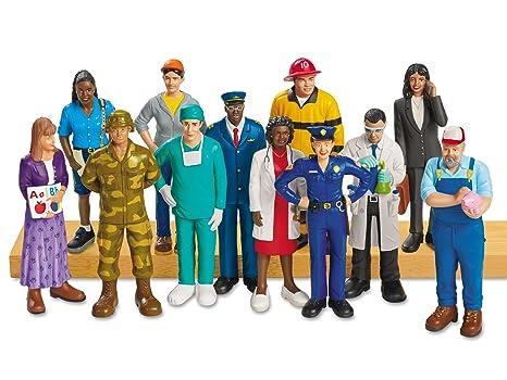 lakeshore people who help us block play figures amazon co uk toys