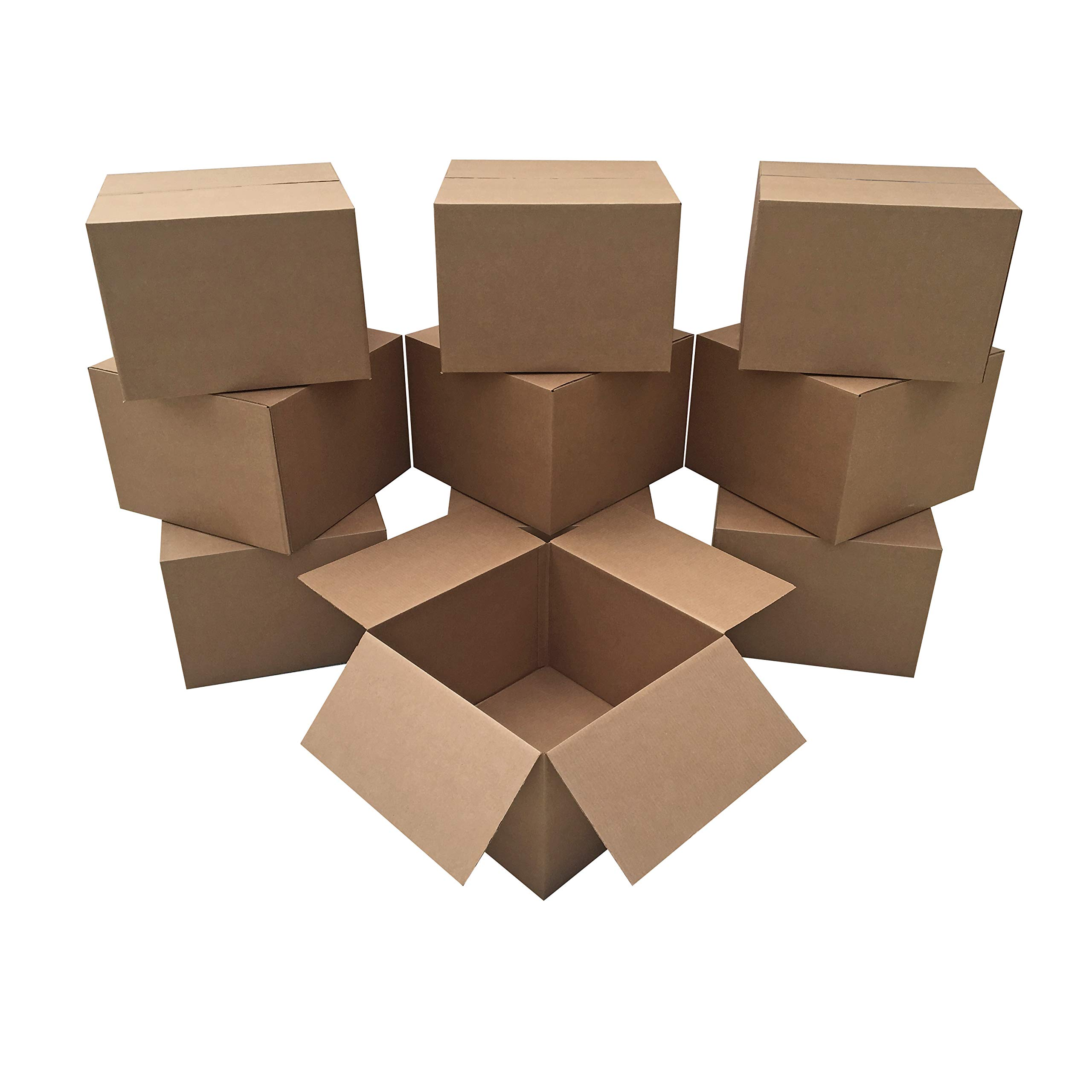 10 Extra Large Moving Boxes 23x23x16