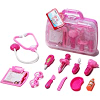Unilove Doctor Kit Pretend Play Medical Set Case Doctor Nurse Game Playset Gift for Kids Boys Girls Over . Old