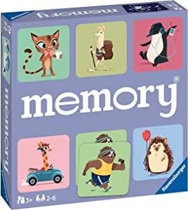 Ravensburger - Memory Happy animals (Ravensburger 20614): Amazon.es: Juguetes y juegos