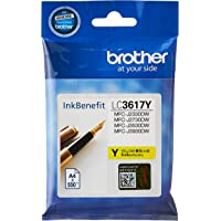 Brother LC3617Y Yellow Ink Cartridge