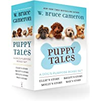 Puppy Tales: A Dog's Purpose 4-Book Boxed Set: Ellie's Story, Bailey's Story, Molly's Story, Max's Story