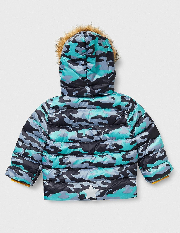 blue seven Jungen Winterjacke Mit Fell-Kapuze Abrigo para Ni/ños