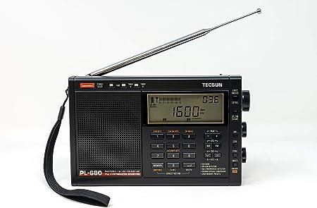 Tecsun PL-680 multibanda portátil con Radio Am/FM/SSB y Modos VHF Airband