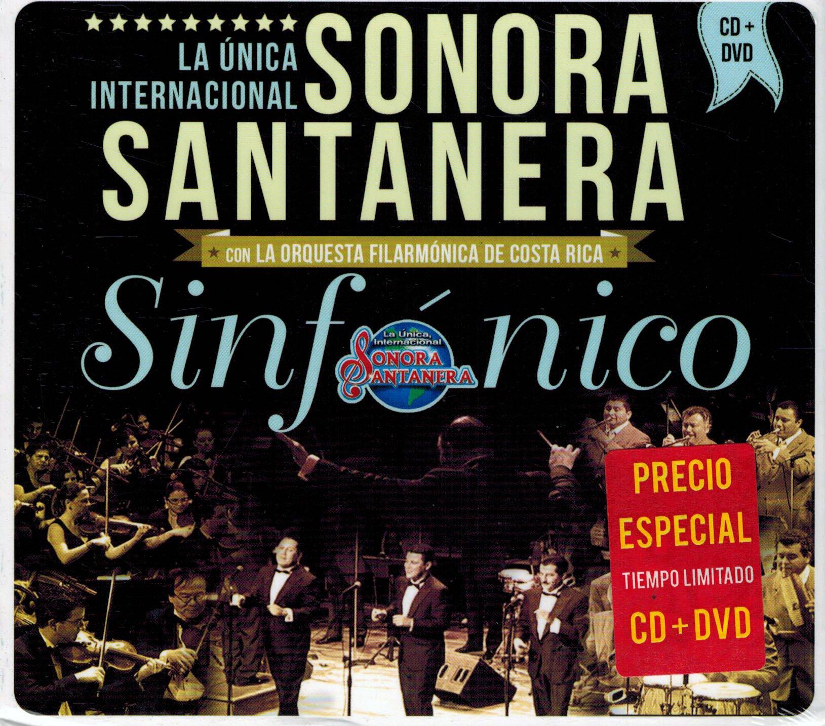 Sonora Santanera, La Unica Internacional (Sinfonico En Vivo - Con La Orquesta Filarmonica de Costa Rica Cd+Dvd Universal-086294) by Universal