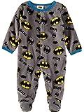 DC Comics Batman AOP Infant Baby Boys Fleece Footies Onsies