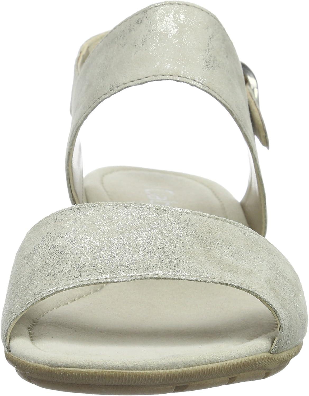 Gabor Open sandalen voor dames Grijs 62 Visone
