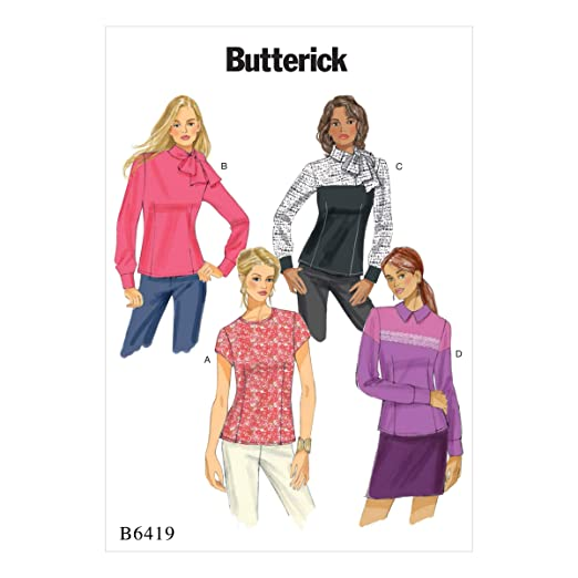 Butterick Patterns MCCALL s Patterns 6419 E5, Patrones de Costura ...