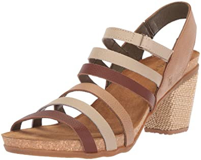 Womens N5030 Soft Grain Grosella Mixed/Mola Open-Toe Heeled Sandals El Naturalista L4odBikEkG