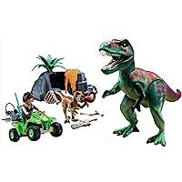 PLAYMOBIL Explorer Quad with T-Rex