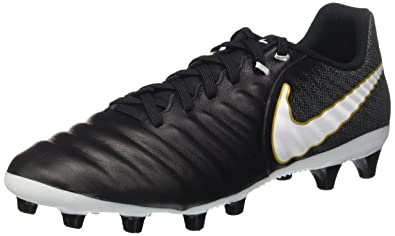 premium selection 01143 e3c8d Nike Herren Tiempo Ligera Iv Ag-Pro Fußballschuhe, Black/White-Laser Orange