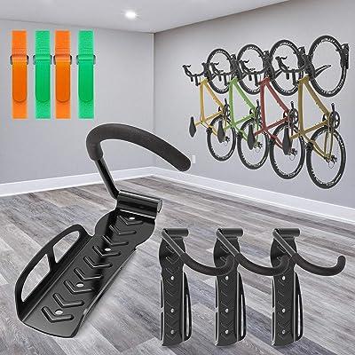 66lbs Bike Wall Mount Storage Holder Bicycle Hanger Stand Hook Garage