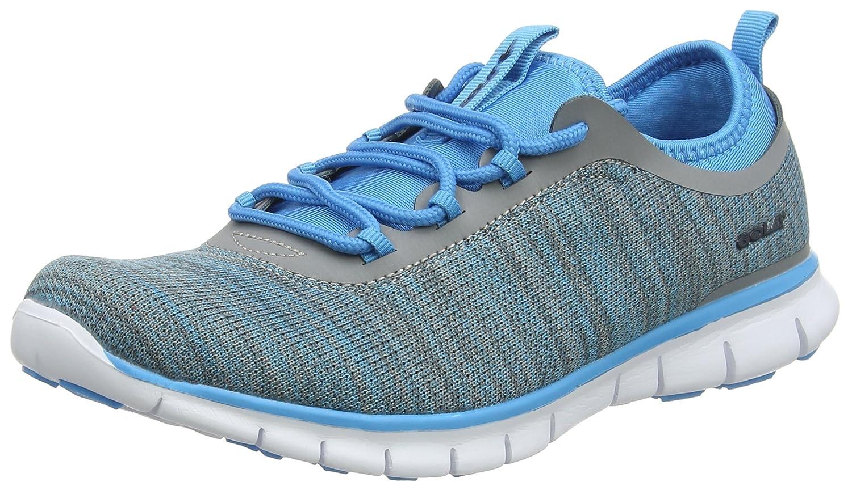 Gola Lovana, Zapatillas Deportivas para Interior para Mujer 39 EU Gris (Grey/Blue)