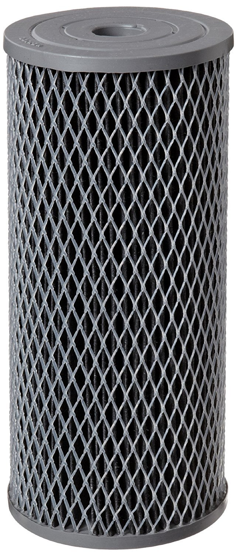 Pentek NCP-BB Carbon-Impregnated Polyester Filter Cartridge, 9-3/4 x 4-1/2, 10 Micron (Pack of 3) by Pentek